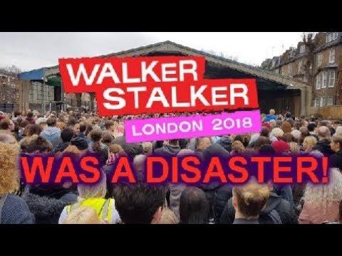 Walker Stalker London 2018 Was A Shambles