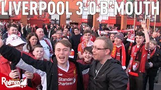 Liverpool v Bournemouth 3-0 | Free For All Fan Cam