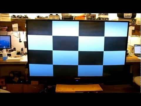 how to fix white dots on samsung tv