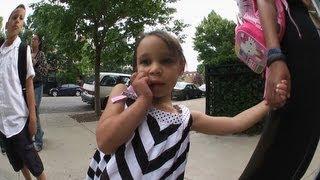 Sadie Louisiane Power's first ever day of pre-K. Best viewed in HD....