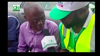 STUNNING : BLIND MAN VOTES IN OSUN ELECTION