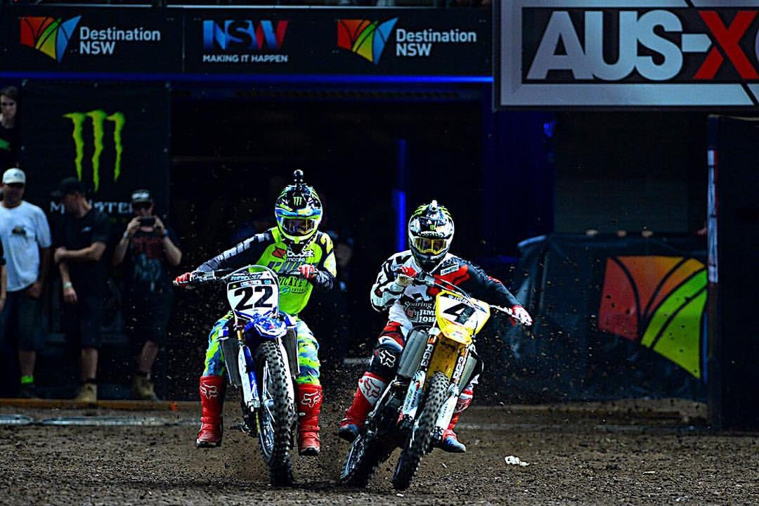 AUS-X OPEN Chad Reed VS Ricky Carmichael - YouTube