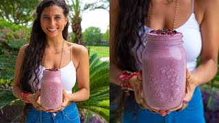 Best Collagen-Building Smoothie for Anti-Aging & Beauty | Raw Vegan