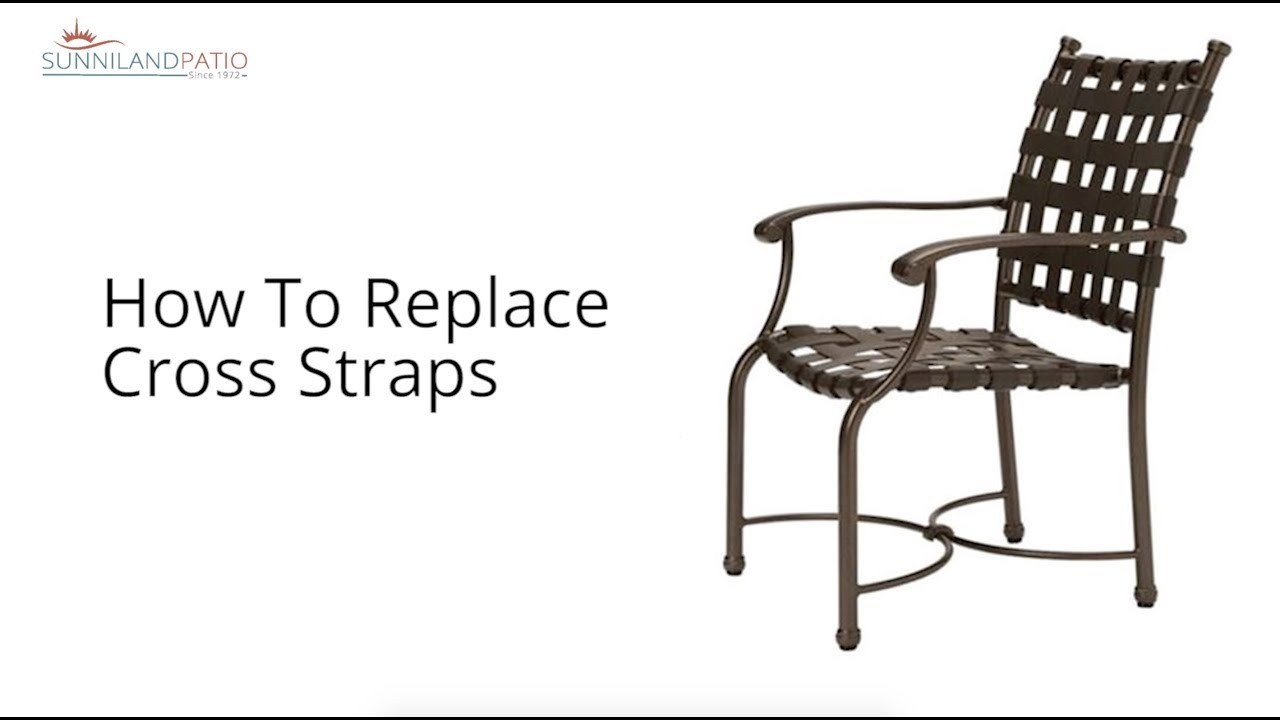 how to replace cross straps