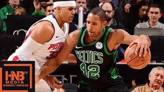 Boston Celtics vs Detroit Pistons Full Game Highlights / Week 8 / Dec 10