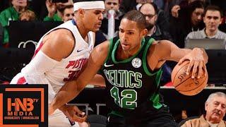 Boston Celtics vs Detroit Pistons Full Game Highlights / Week 8 / Dec 10