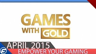 Xbox Games With Gold April 2015
