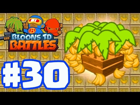 THOUSANDS OF BANANAS! THE MOST BANANA FARMS EVER! | Bloons TD Battles Gameplay Part 30 (BTD Battles)