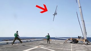 Landing A Drone Aircraft With No Runway: Unique 'SkyHook' Recovery System