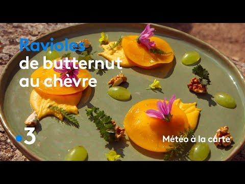 recette-:-ravioles-de-butternut-au-chèvre-et-aux-noix---météo-à-la-carte