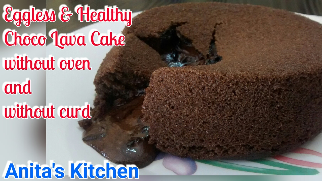 Choco lava cake without oven