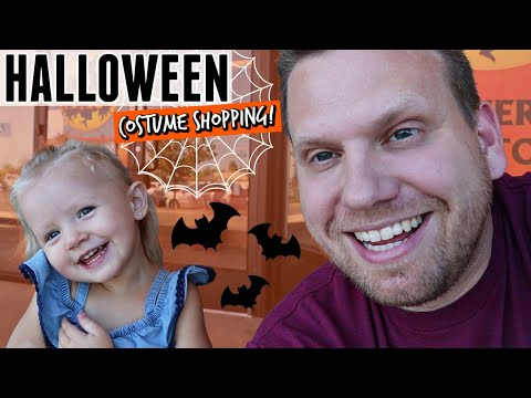 Halloween Costume Shopping At Spirit Halloween Store!
