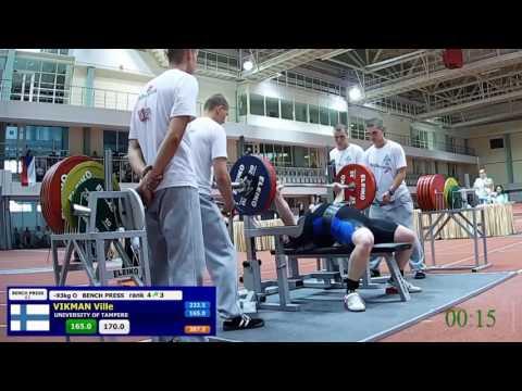 1st University Powerlifting World Cup 2016 Minsk 14.7.2016