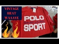 Trip to the Thrift Ep.4 | INSANE POLO FIND, $200 Tommy jacket and A lot more! * WARNING HEAT WAVE*