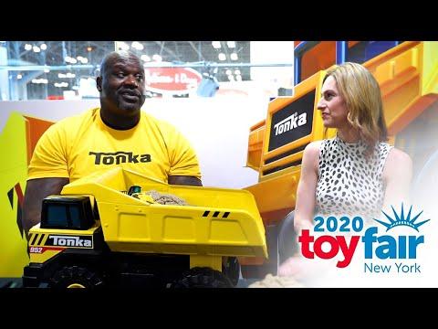 SHAQ Talks Tonka, Toys, and Play at Toy Fair NY!