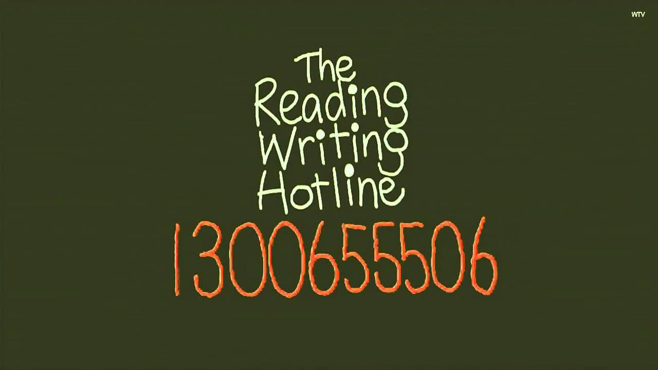 reading writing helpline