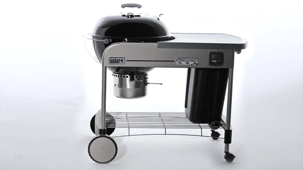 Weber Holzkohlegrill Performer Premium Gbs 57 Cm : Weber holzkohlegrill original kettle cm black