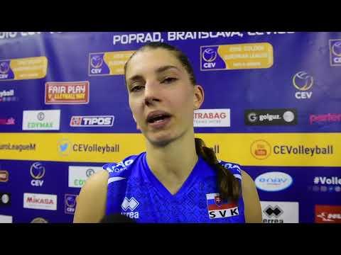 Nikola Radosova (SVK) reflects on lost tie break against Belarus at #EuroLeagueW