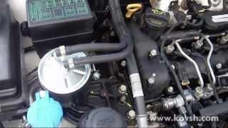 Установка дополнительного фильтра на Sorento R 2.2 Diesel 2012 г.в.