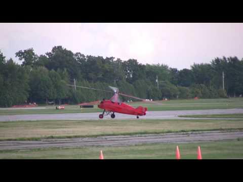 Airventure 2009: Pitcairn PA-18 Autogyro Flight