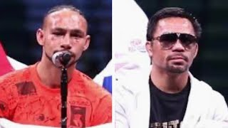 """KEITH THURMAN REVEALS WHY HE LOST vs MANNY PACQUIAO """"HE KNOCKED ME DOWN IN THE FIRST"""""""