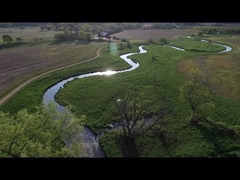 Wolf Run Trail drone flight (w/ music)