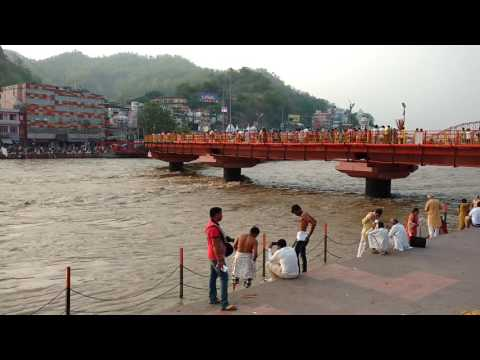 haridwar ganga river video