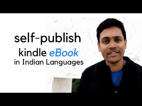 How to Publish Ebooks in Indian Languages (Tamil, Hindi, Malayalam, Gujarati, Marathi) on Amazon KDP