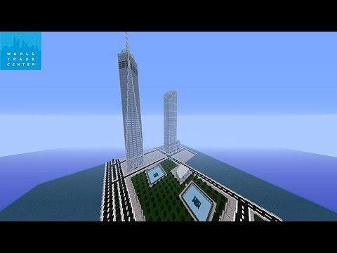 How to make the freedom tower in minecraft pe