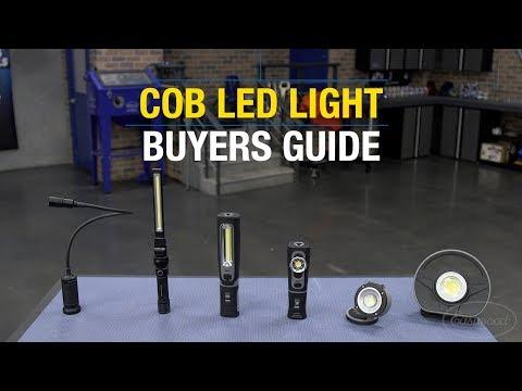 COB LED Light Buyers Guide - Best Work Lights For The Home Or Garage - Super Bright LED Lights