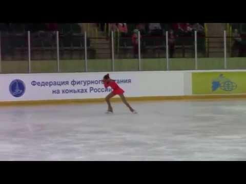 Rostelecom Crystal Skate 2015  Girls, Advanced Novices  КП 7 Ekaterina MITROFANOVA RUS
