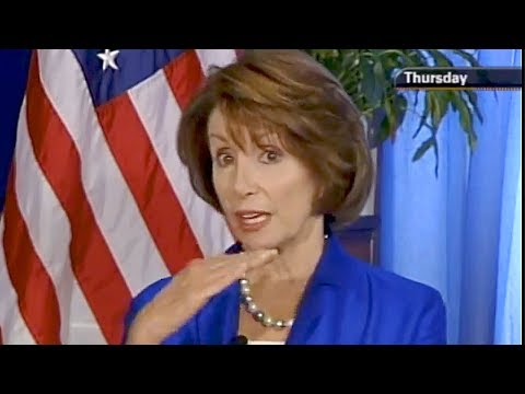 Nancy Pelosi references the Flat Earth Society thumbnail