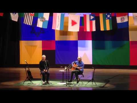 Caetano Veloso e Gilberto Gil - Three Little Birds (Curitiba, 2015)