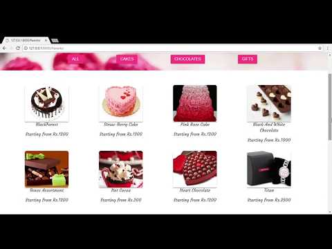 Updated Online Bakery Store(Python Django Project) with Payment Integration