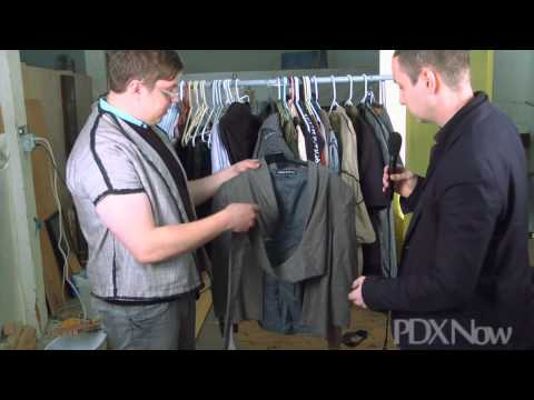 Interview with Fashion Designer Adam Andreas, based in Portland, Oregon (excerpt)