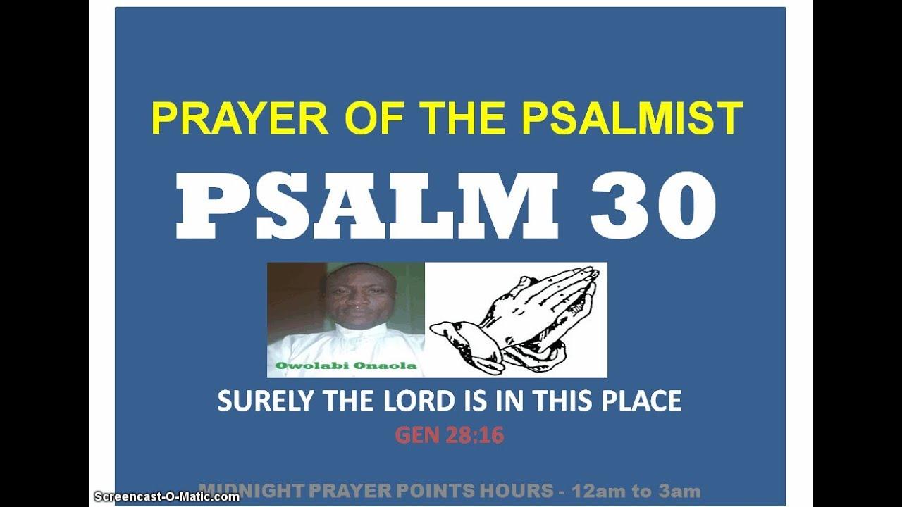 Midnight Prayer Point Hours