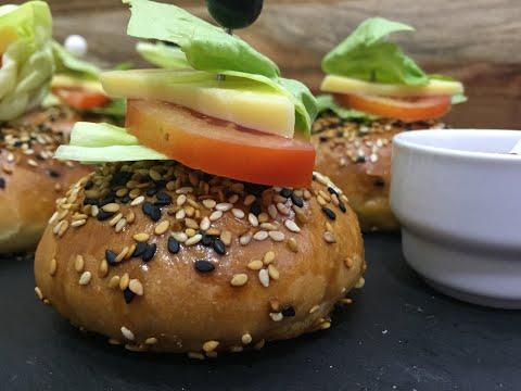 burgers-farcis---تحضيرات-رمضان-العجينة-السحرية-للبرجر