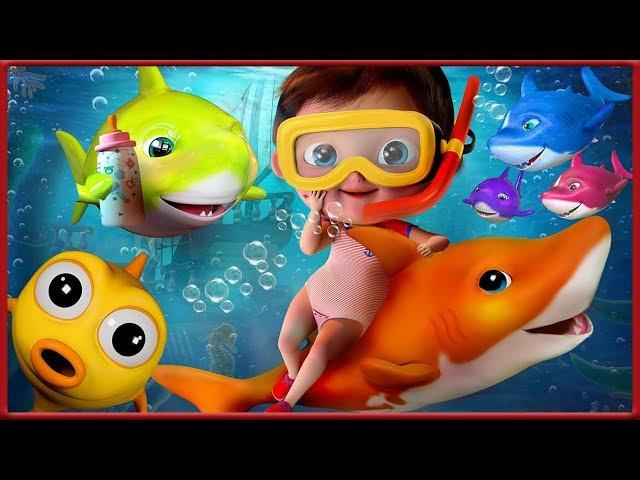🔴 Baby Shark , Wheels on the Bus , Happy Birthday Song, Johny Johny Yes Papa - Banana Cartoon [HD]