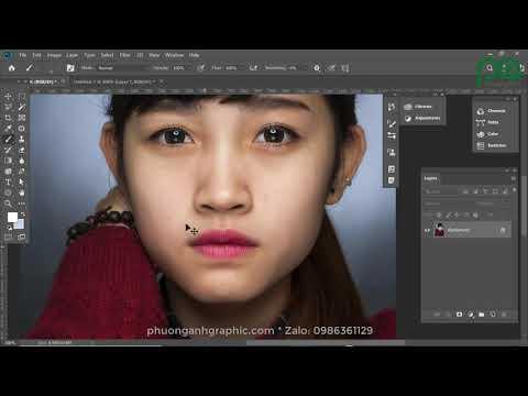 Photoshop - Làm mịn và sắc nét ảnh