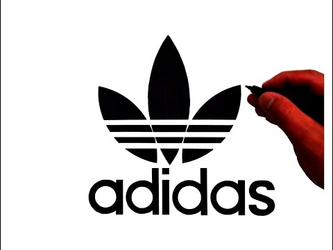 How to Draw the Original Adidas Trefoil Logo