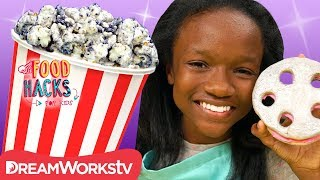 Cookies 'n Creme Popcorn + More Movie Night Hacks | FOOD HACKS FOR KIDS