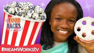 Cookies 'n Creme Popcorn + More Movie Night Hacks | FOOD HACKS FOR KIDS