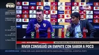 Biscay en conferencia de prensa