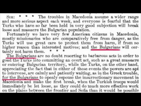 1903 Official Documents from United States Foreign Relations - The Bulgarian Uprising in Macedonia!