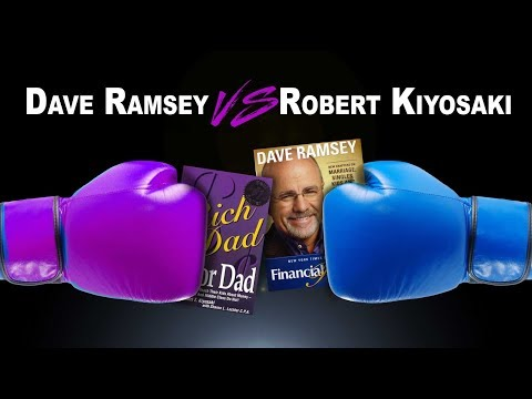 Dave Ramsey vs Robert Kiyosaki! The EPIC battle of which system you may want to follow!