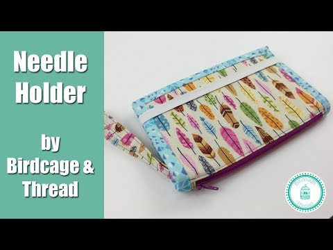 Needle Holder Project Pouch