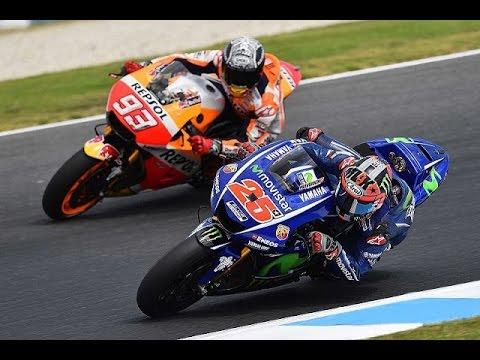 Highlight MotoGP 2017   Marquez Vs Vinales