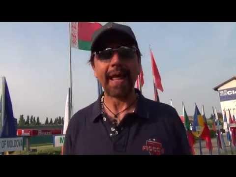 Valerio Staffelli all'European Championship Shotgun