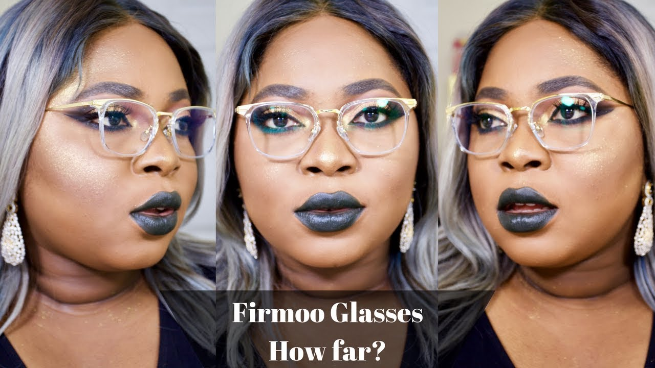 Glasses on Round Face| Firmoo Glasses Review| Get a FREE pair - YouTube