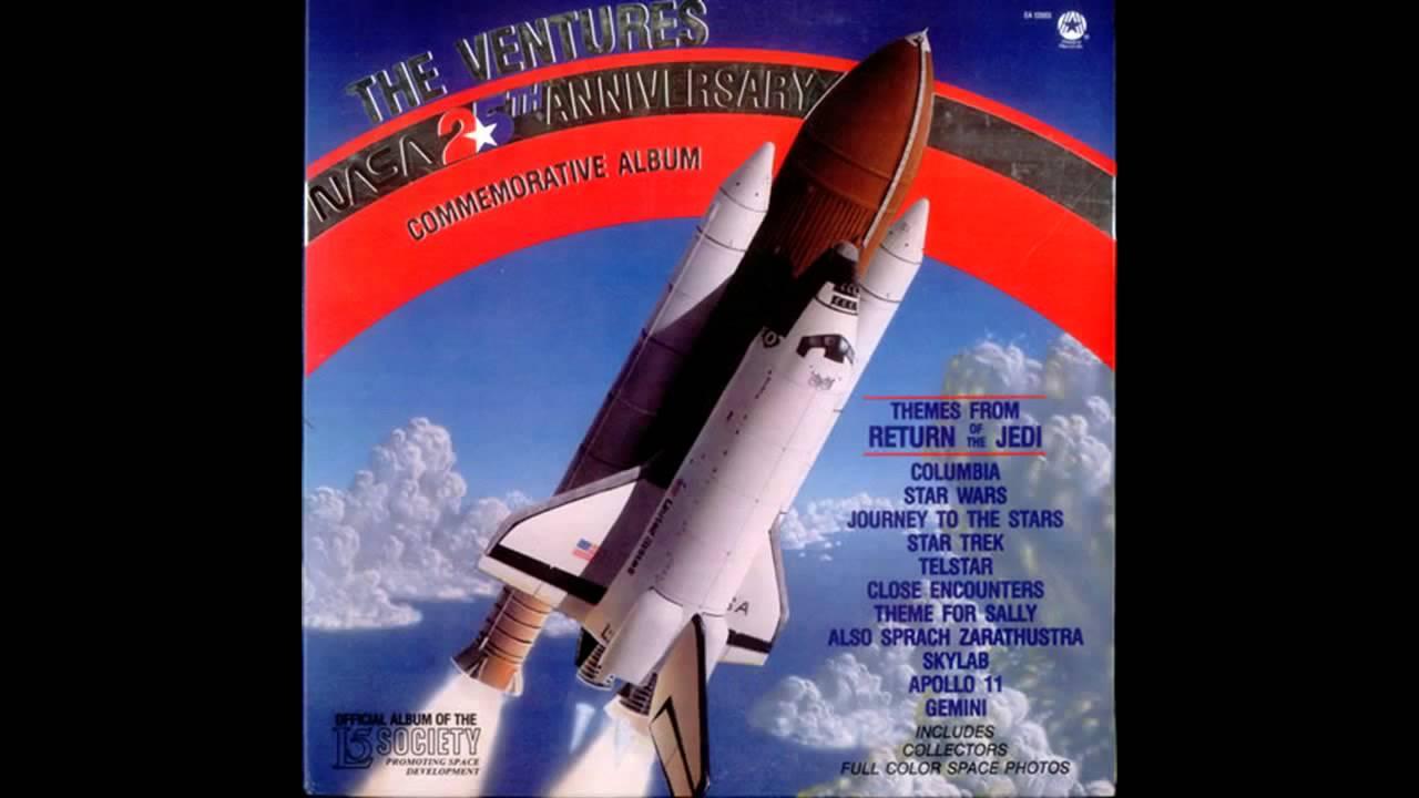nasa 25th anniversary commemorative album
